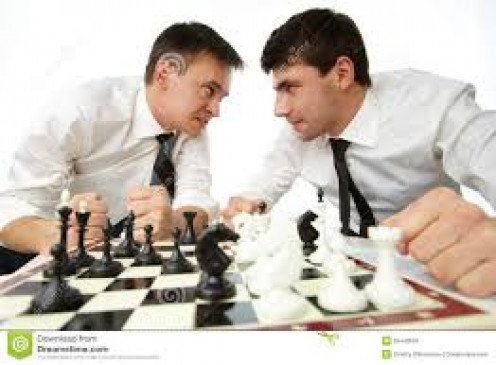 "Some meetings between a boyfriend and an ""ex"" can be described as a chess match"