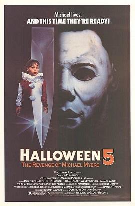"""""""Halloween 5: The Revenge of Michael Myers"""" poster"""