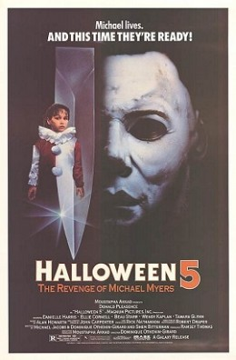 """Halloween 5: The Revenge of Michael Myers"" poster"