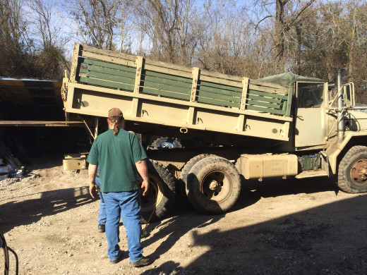 Removing the Heavy Truck Bed