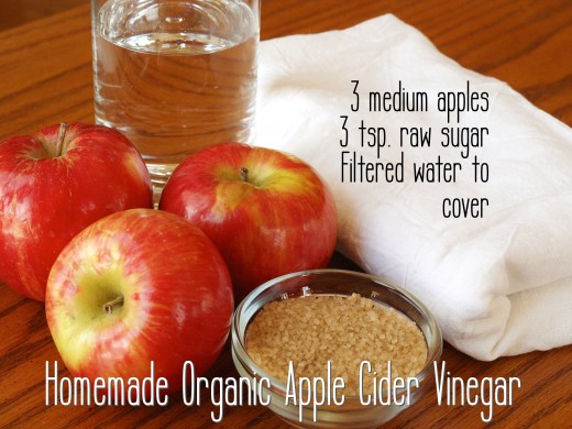 Making apple cider vinegar at home is easy!