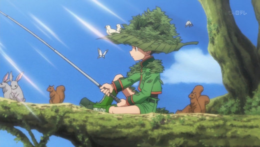 Gon in episode one.