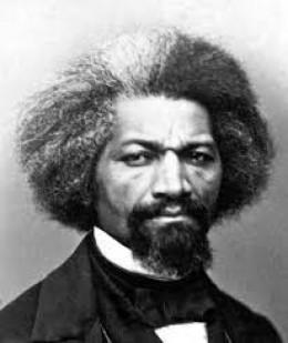 Frederick Douglass: former slave, abolitionist, newspaper man, U.S. ambassador to Haiti