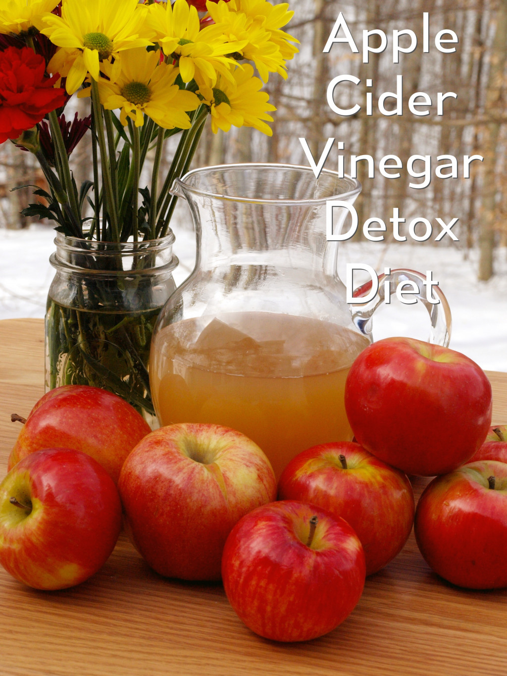 How to Detox With the Apple Cider Vinegar Diet   CalorieBee