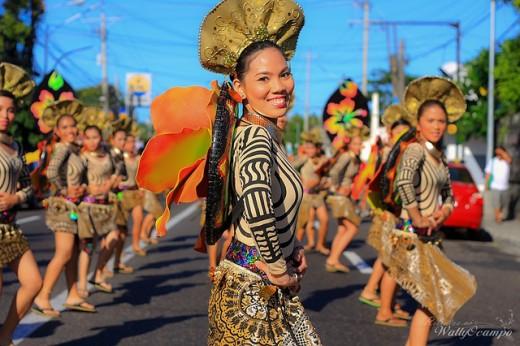 Beautiful Magayon Festival Dancer during parade.