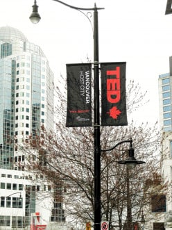 The TED conference was held in Vancouver in March 2014 and 2015 and will also be held in Vancouver in 2016.