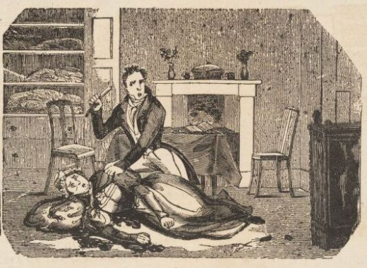 William Marchant murdering Elizabeth Ann Paynton