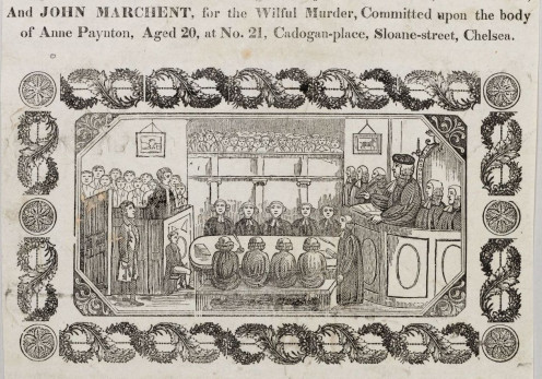William Marchant's Trial at the Old Bailey
