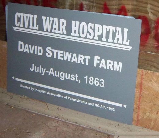 We got a chance to investigate the David Stewart Farm in Gettysburg , PA an old Civil War Hospital with Ghost Detectives !