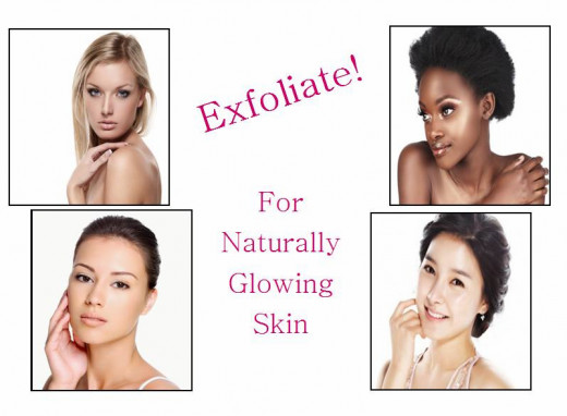 Get naturally glowing skin from exfoliation!