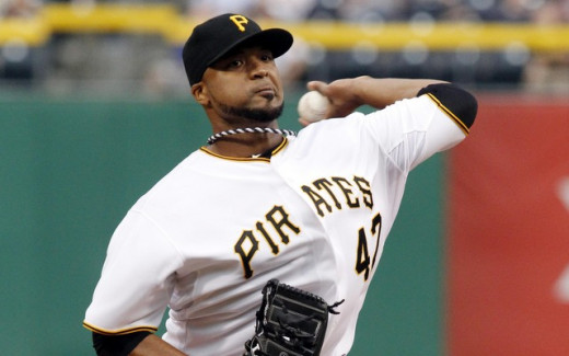 Francisco Liriano prepares for his second straight opening day start for the Pirates.