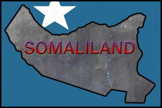 map of Somalialand