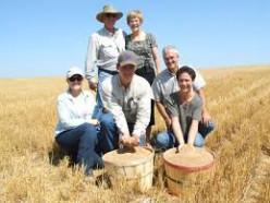 Wheat-farming family