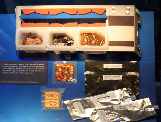 Real US Space Shuttle Food.