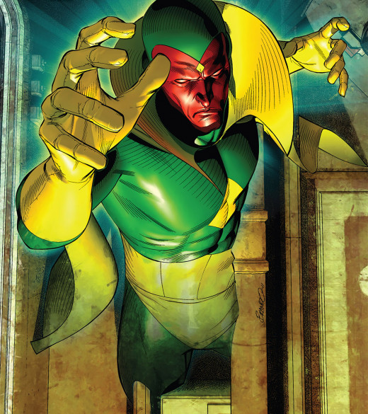"""""""Oh, hello there. I am the Vision."""""""