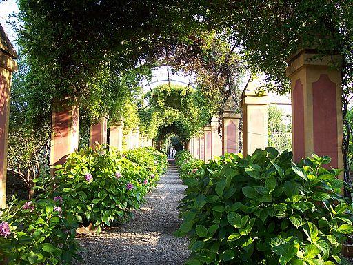 Villa Garden Path