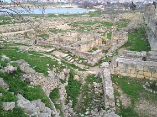 Excavations of Chersones are getting more serious since it came on the list of Unesco.