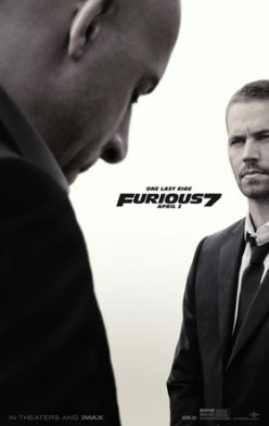 "Furious 7, ""See you again"" by Wiz Khalifa for Paul Walker"