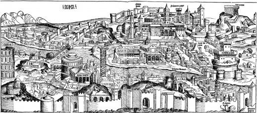 Rome around 1490