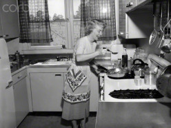 """She is a REAL chef. The homemaker of the early to late 1950s cooked the best meals and on mostly a """"shoe string budget"""""""