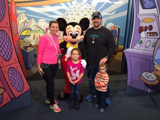 Disney trip January 2014