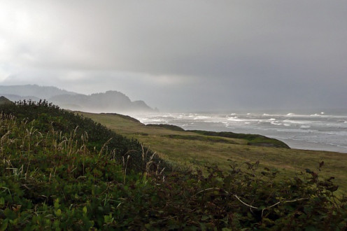 Coastline of Oregon and the Pacific Ocean
