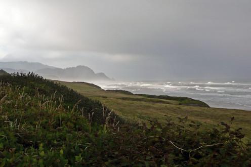 Coastline of Oregon and the Pacific Ocean