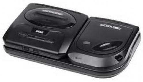 The 2nd versions of the Sega Genesis & the Sega CD.