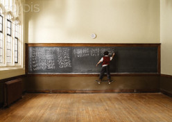 It is so lonely to be stuck in a smelly classroom writing some lame sentence 500 times for punishment