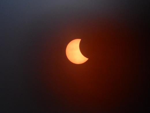 08:55 Solar eclipse, 2015.