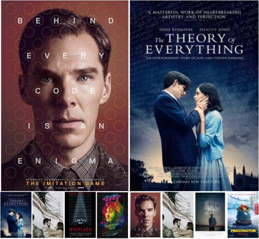 Oscar vs BAFTA 2015 - Best Adapted Screenplay