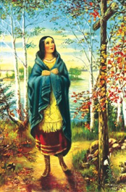 The story of  Mohawk saint, Kateri Tekakwitha