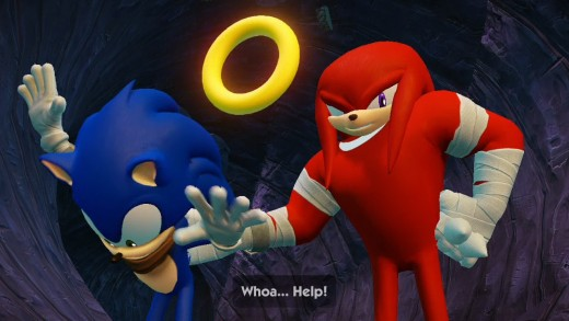 A cutscene from Sonic Boom: Rise of Lyric