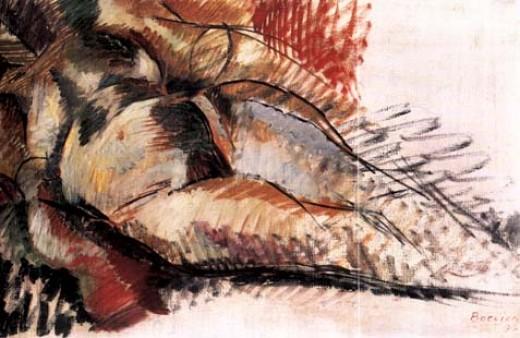 ca. 1915; Umberto Boccioni