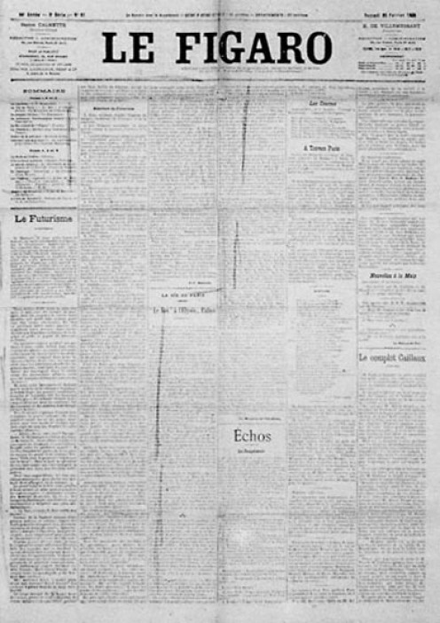 Parisian newspaper