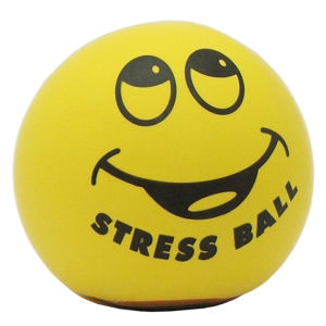 A stress ball can make a big difference!