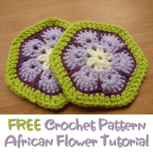 Easy African Flower Crochet Pattern Pakbit For