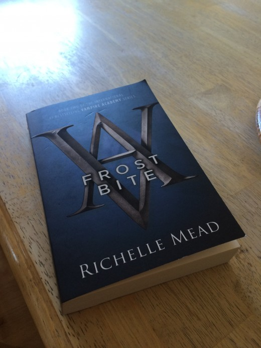 The second book in the Vampire Academy series:  Frost Bite, which was a great read.