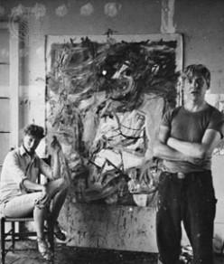 Elaine and Bill de Kooning