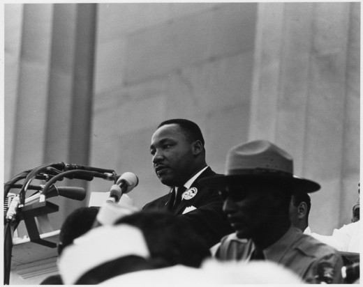 Not only a great Civil Rights leader but also an advocate for social justice by peaceful means.