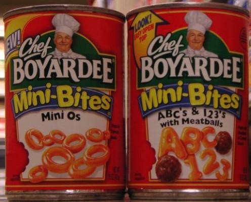 Chef Boyardee - American Icon and College Staple.