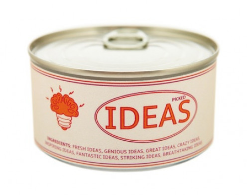 If only creativity could be canned!