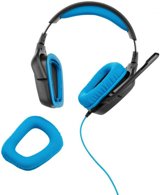 The Logitech G430 Headphones Have Pads that are easy to maintain and clean