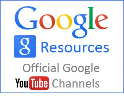 There are a wide variety of YouTube channels out there to help you educate yourself about the Google resources that are available to you