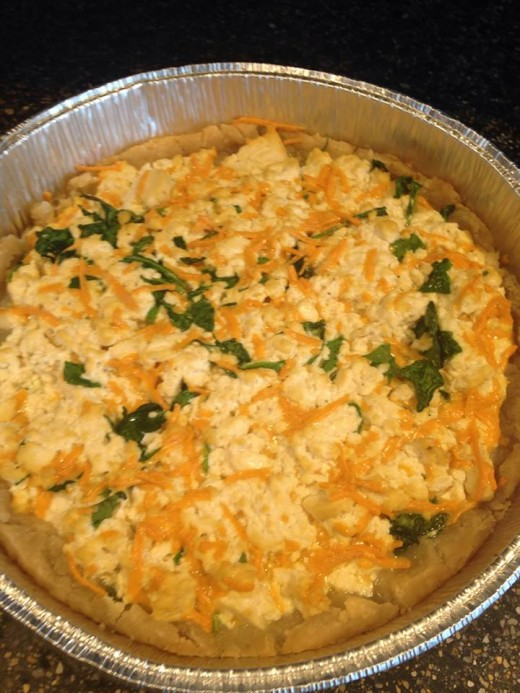 Eggless Gluten Free Quiche