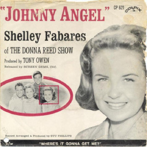 """Johnny Angel"" was Shelly's only big hit in her singing days"