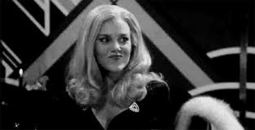 The amazing Madeline Kahn, in High Anxiety. Truly one of the great sirens of 1970s cinematic comedy.