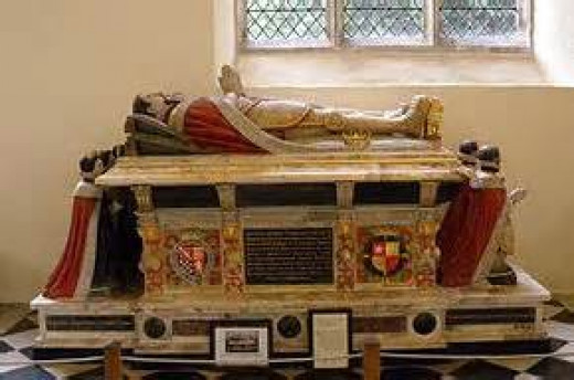 The tomb of the Earl of surrey