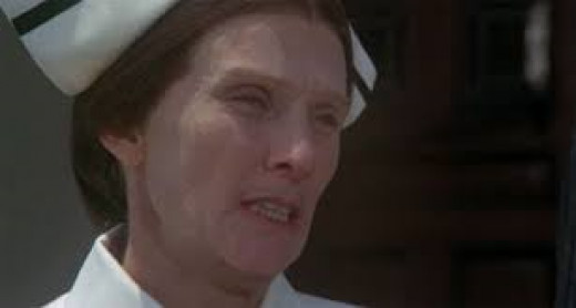 Cloris Leachman in High Anxiety.