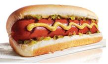 Hotdogs, cheap and good.